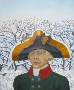 Портрет императора Павла I кисти художника Владимира Монахова