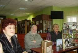 Cлева направо: Е. Л. Бабий, Л. А. Аннинский, С. Н. Есин