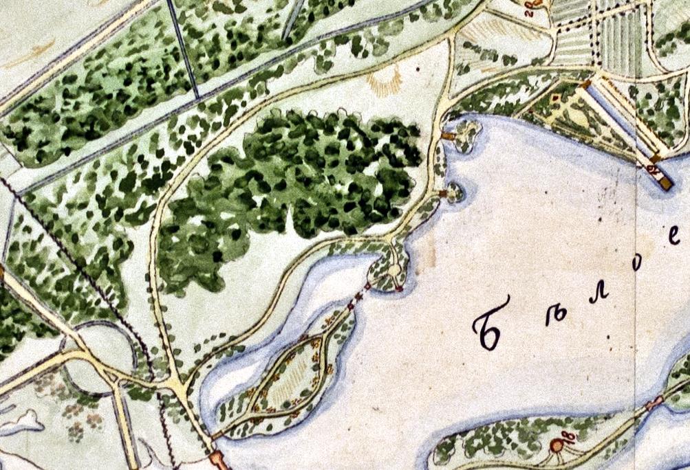 Схема квартала № 3 1816 года