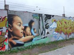 Стена для рисунков в Гатчине