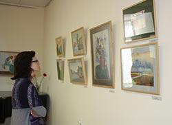 C выставки молодого художника Виктории Ярославовой
