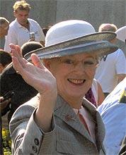 Королева Дании Маргарете II