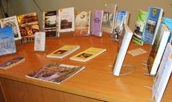 Выставка книг гатчинских авторов в библиотеке им. А.И.Куприна
