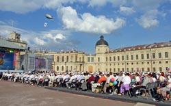 Празднование 80-летия ЛО в Гатчине