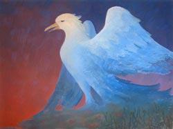Птица Гамаюн – логотип художника В.К.Монахова