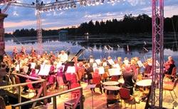 Ночь музыки в Гатчинском парке. Фото Галины Пунтусовой