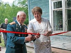 Открытие музея дачной Сиверской 15 июля 2009 г.