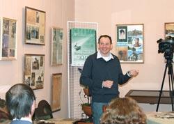 Даниил Спиваковский на встрече со зрителями в Музее города Гатчина