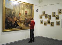 Выставка в Гатчинском дворец, посвященная победе в войне 1812 года
