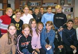 В Детской библиотеке г.Гатчина